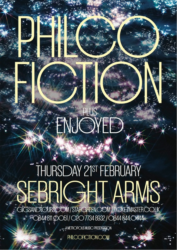 PHILCO FICTION at Sebright