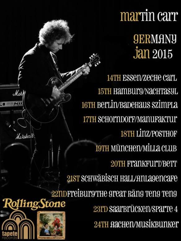 Martins German Tour. Kein Schlaf Bis Achen